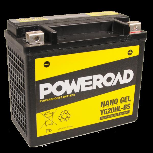 Poweroad Gel YG20HL-BS/12V-20AH (VE4)#