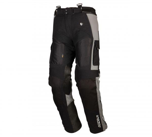 Modeka AFT Air Textilhose Grau / Schwarz