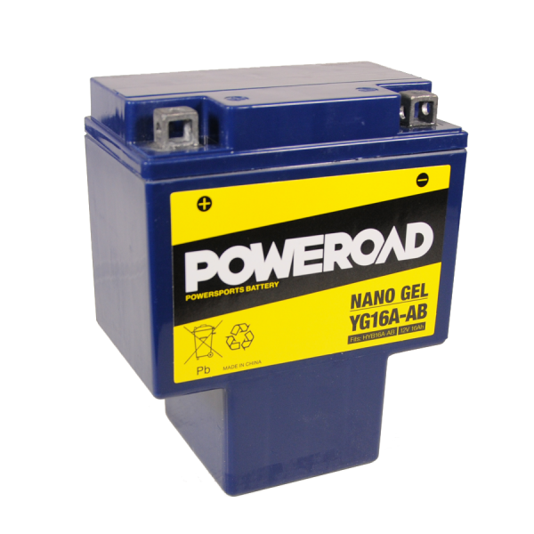 Poweroad Gel YG16A-AB/12V-16AH (VE04)#