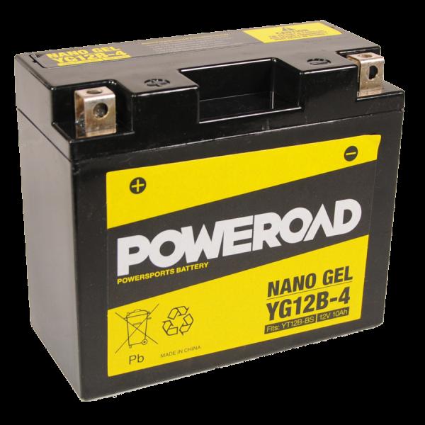 Poweroad Gel YG12B-4/12V-12AH VE6#