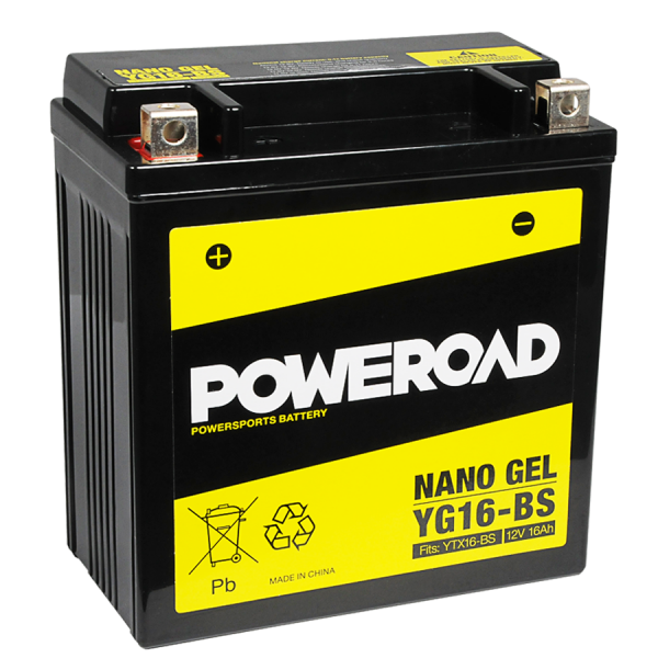 Poweroad Gel YG16-BS/12V-16AH VE4#