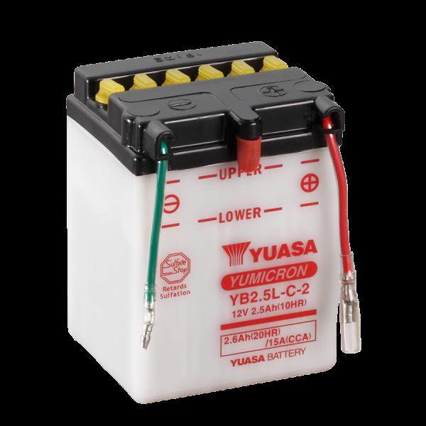 Yuasa YB2,5L-C2 12V/2,5A (VE10)