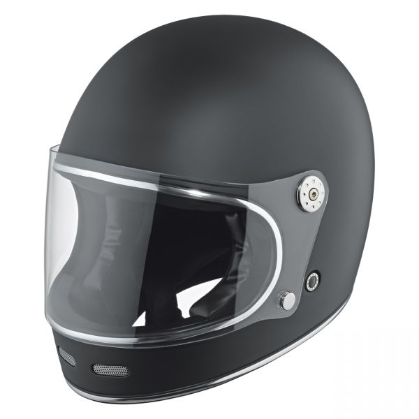 Held Root Retro Urban Helm Mattschwarz