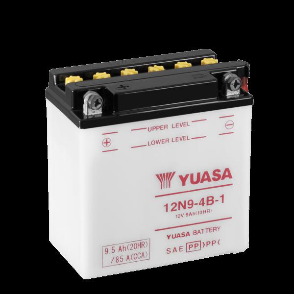 Yuasa 12N9-4B-1 12V/9A (VE5)