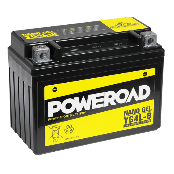 Poweroad Gel YG4L-B/12V-4AH VE12#