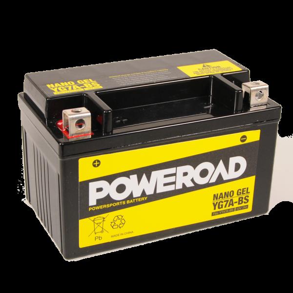 Poweroad Gel YG7A-BS/12V-7AH VE8#