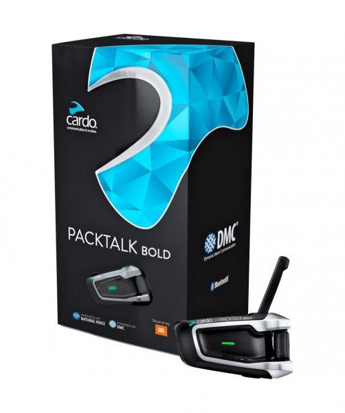 Cardo Packtalk Bold Singlebox Einzelset JBL