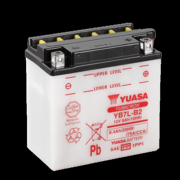 Yuasa YB7L-B2 12V/8,4A (VE5)