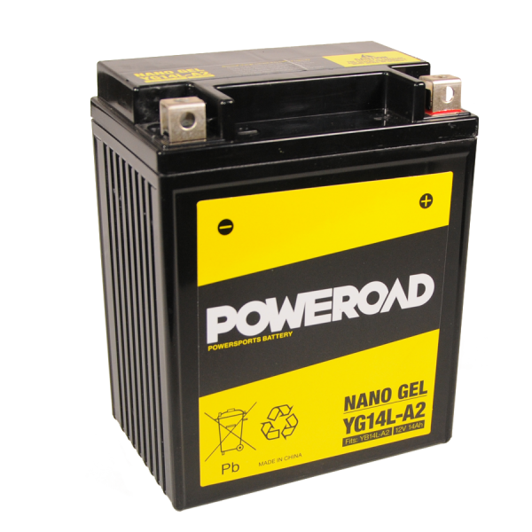 Poweroad Gel YG14L-A2/12V-14AH VE5#