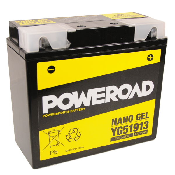 Poweroad Gel YG 51913/12V-21AH VE4#
