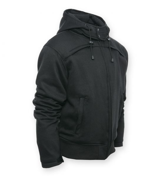 Bores Safety 4 Sommer Kevlar Hoodie abnehmbare Kapuze