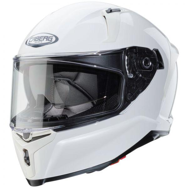 Caberg Avalon Unifarben Weiß Metallic