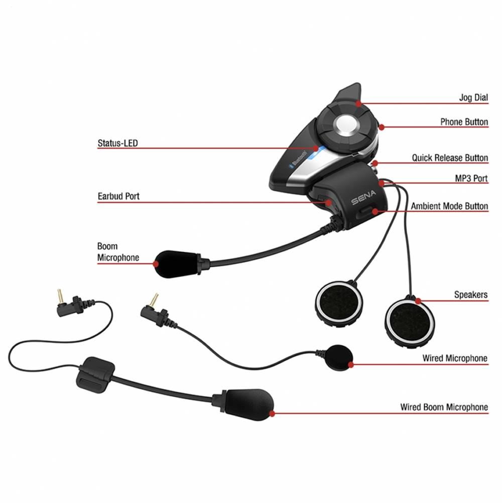 Sena 20S EVO Doppelset Bluetooth Kommunikationssystem G Boom Rugged Bluetooth Speaker Wiring Diagram on