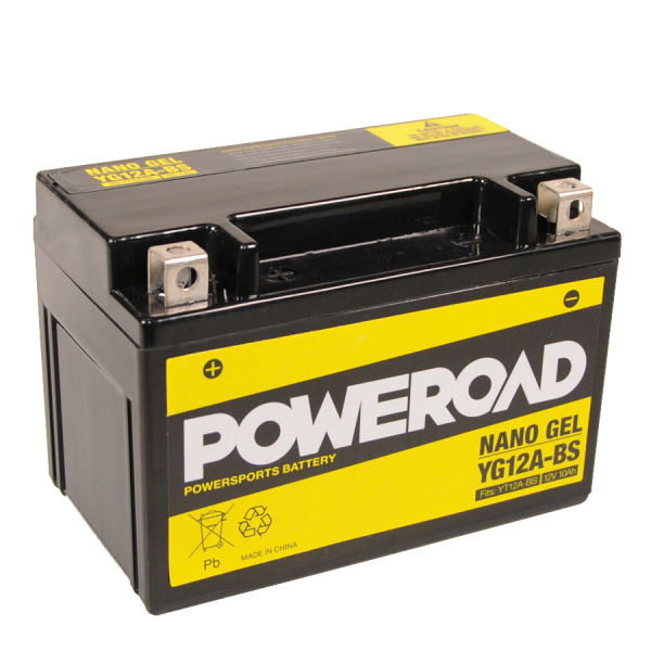 Poweroad Gel YG12A-BS/12V-10AH VE8#