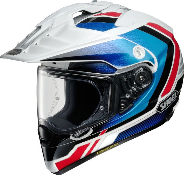 Shoei Hornet ADV Sovereign TC-10 Blau / Weiß / Rot