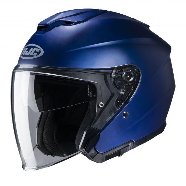 HJC i30 Uni Matt Metalic Blau