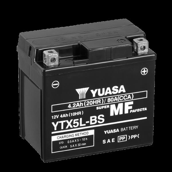 Yuasa YTX5L-BS 12V/4A (VE06)