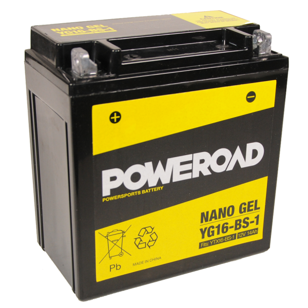 Poweroad Gel YG16-BS-1/12V-16AH VE4#