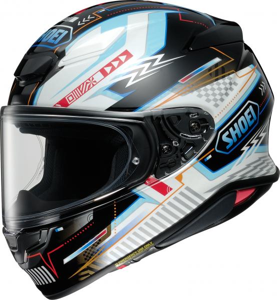Shoei NXR2 Arcane TC-10 Schwarz / Weiß / Blau