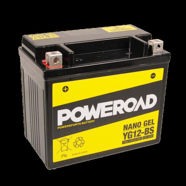 Poweroad Gel YG12-BS/12V-12AH VE4#