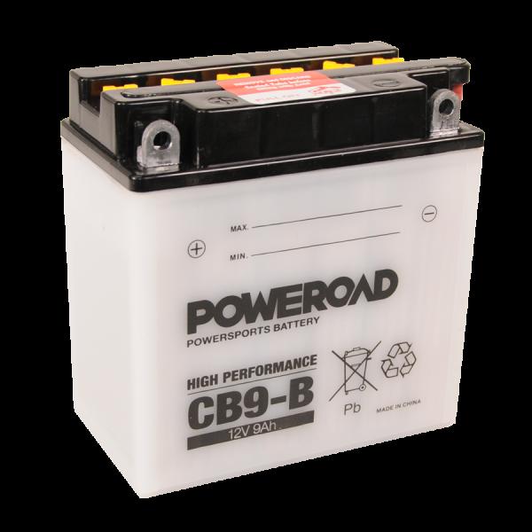 Poweroad CB9-B 12V/9Ah (VE9)