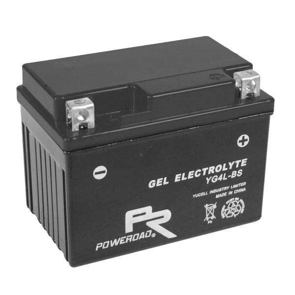 Poweroad Gel YG4L-BS/12V-4AH VE9#