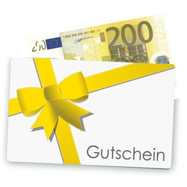 200 euro gutschein zum verschenken