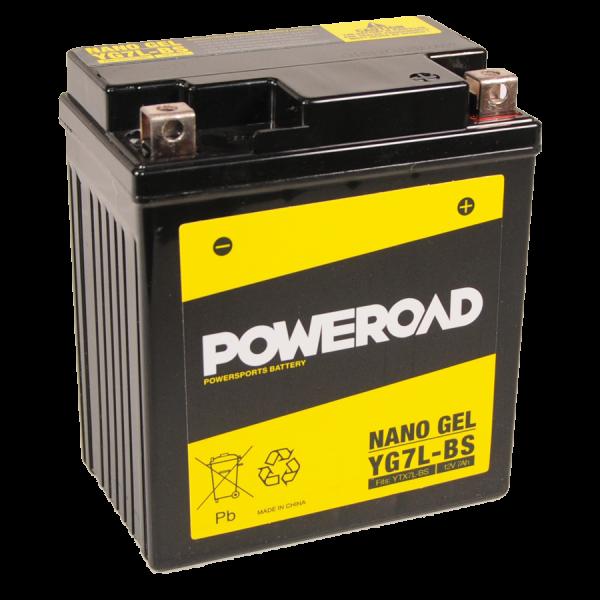 Poweroad Gel YG7L-BS/12V-7AH VE9#