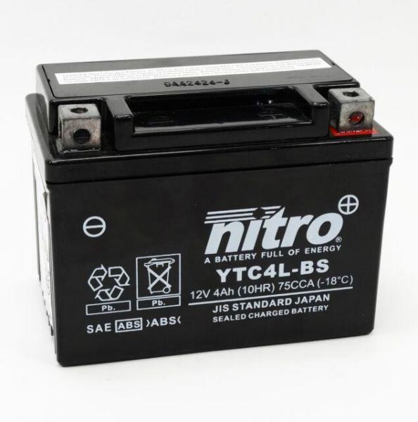 Nitro YTC4L-BS passgenau wie YG4L-BS