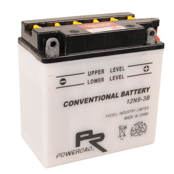 Poweroad 12N9-3B 12V/9A (VE10)