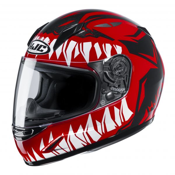 HJC CL-Y Zuky MC1 Schwarz / Rot / Weiß