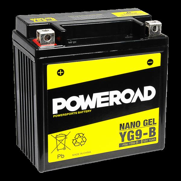Poweroad YG9-B Nano Gel Batterie fits YB9-B