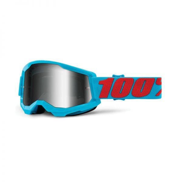 100% Brille Strata 2 Summit / Silber verspiegelt