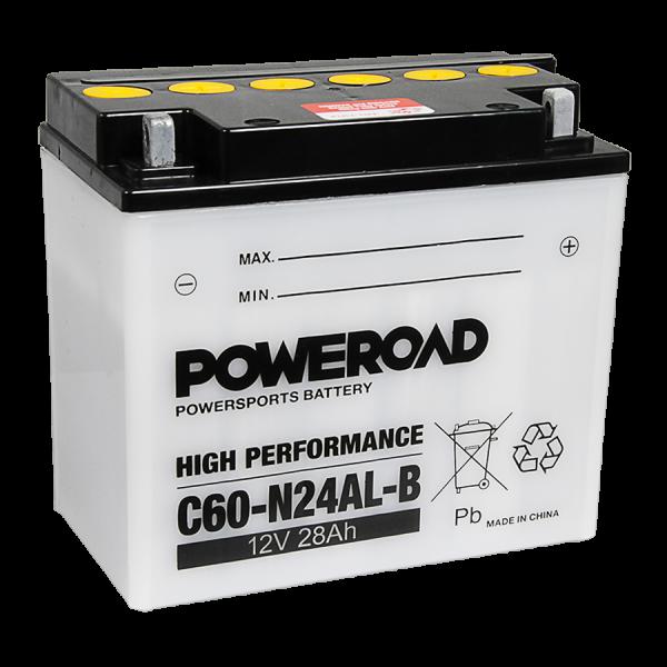 Poweroad C60N24AL-B 12V/28A VE4