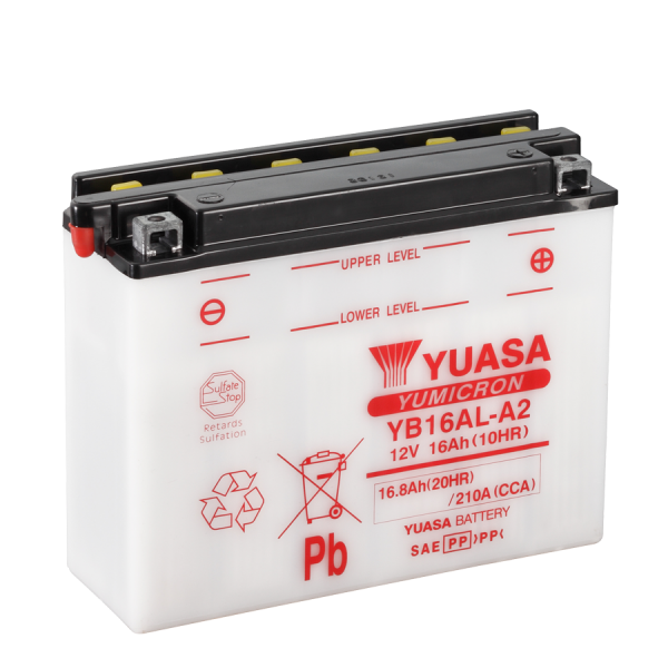 Yuasa YB16AL-A2 12V/16A (VE05)