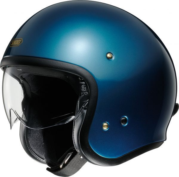 Shoei J.O light blue