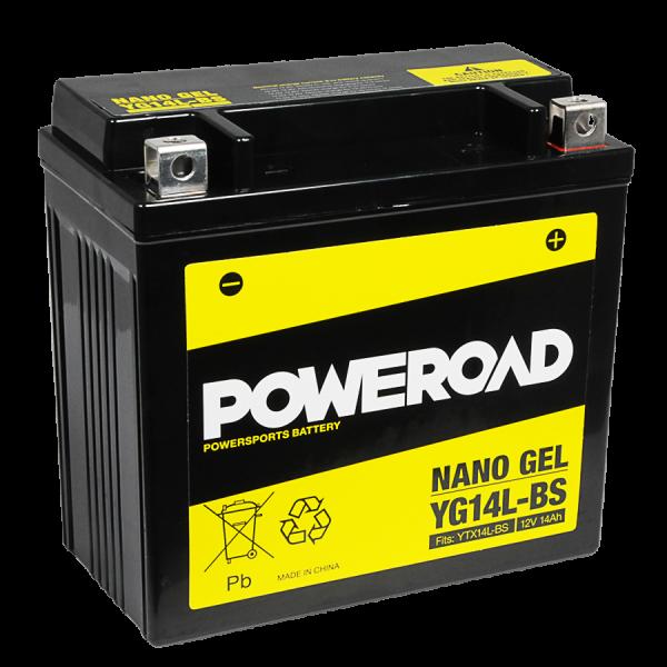 Poweroad Gel YG14L-BS/12V-14AH (VE4)#