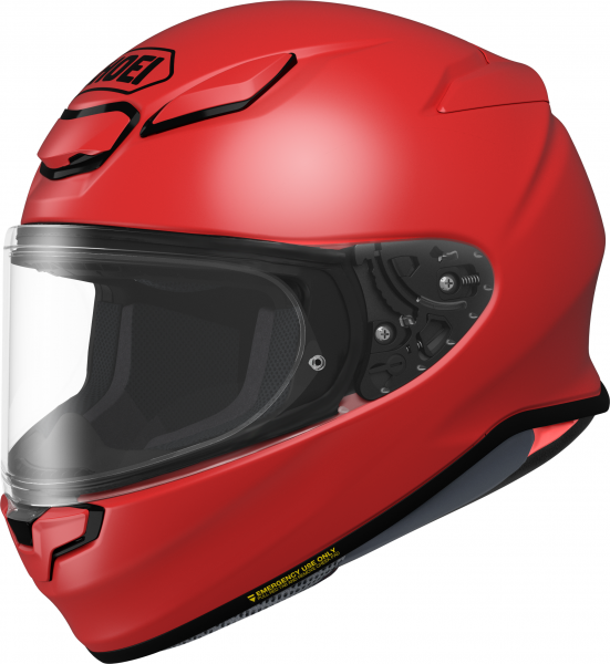 Shoei NXR2 Unifarben Rot