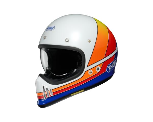 Shoei Ex Zero Retro Helm Equation Dekor
