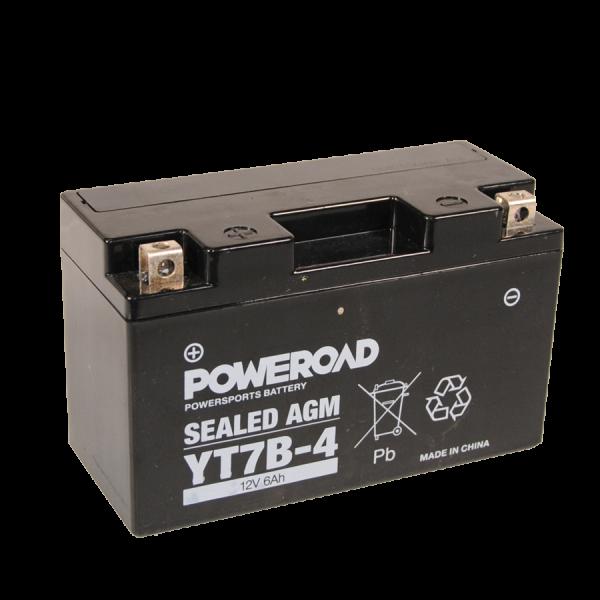 Poweroad YT7B-4 12V/6Ah (VE10)