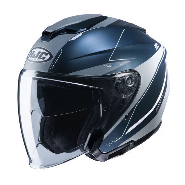 HJC i30 Slight MC2SF Dunkelblau / Grau / Silber