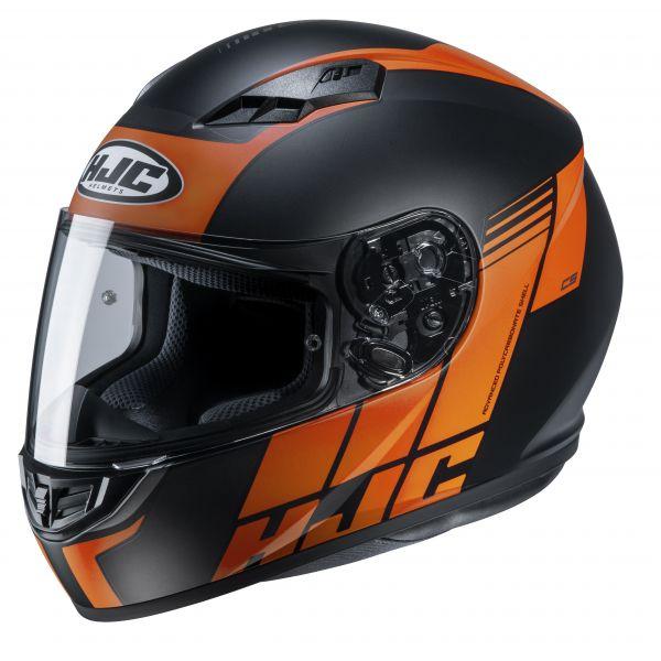 HJC CS-15 Mylo MC7SF Schwarz / Orange