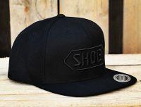 Shoei Basecap Schwarz Schwarz