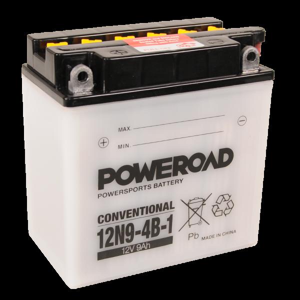 Poweroad 12N9-4B-1 12V/9A (VE9)