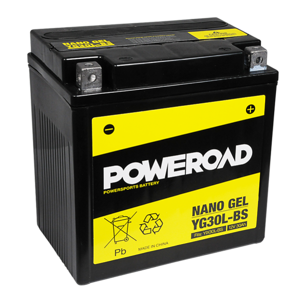 Poweroad Gel YG30L-BS/12V-30AH (VE02)#