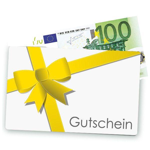 Geschenkgutschein 100 EUR Postversand grün