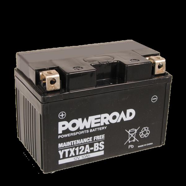 Poweroad YTX12A-BS 12V/10A (VE6)