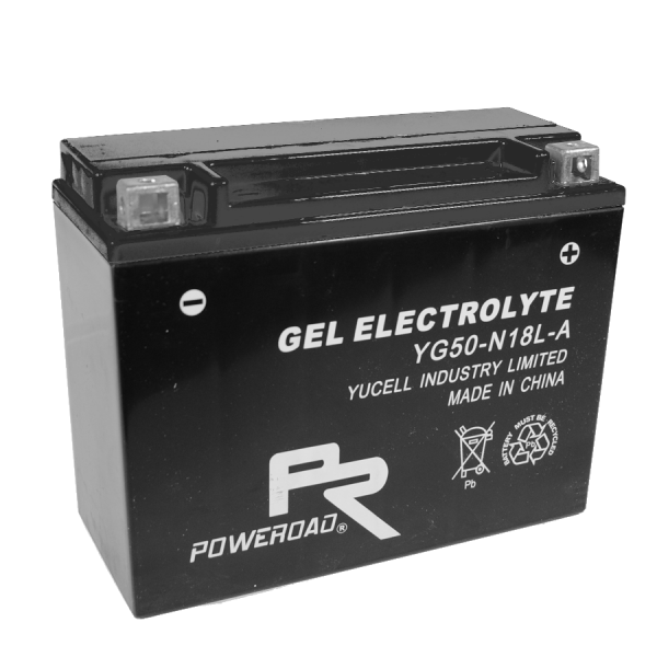 Poweroad Gel YG50-N-18L-A/12V-20AH VE1#