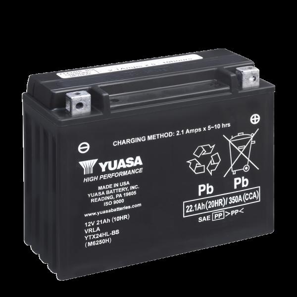 Yuasa YTX24HL-BS 12V21A (VE1)