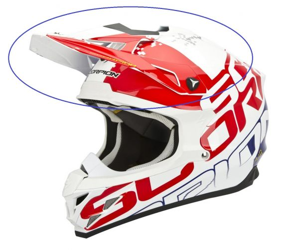Scorpion Visiere VX 15 Schirm Helmschild